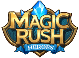 Magic Rush Heroes logo