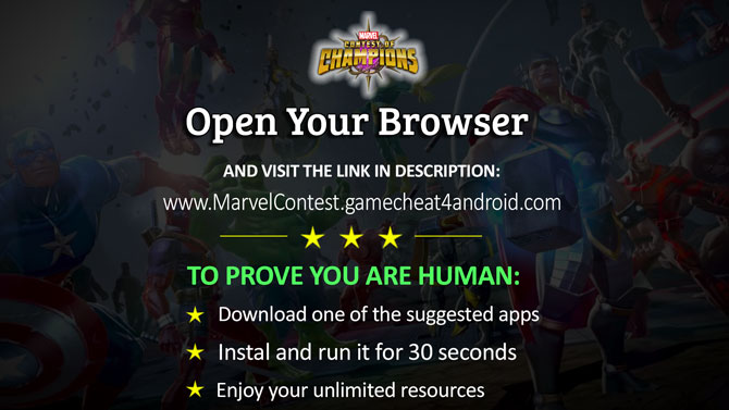 Marvel Contest Of Champions Hack - Free Cheat 999k Resources