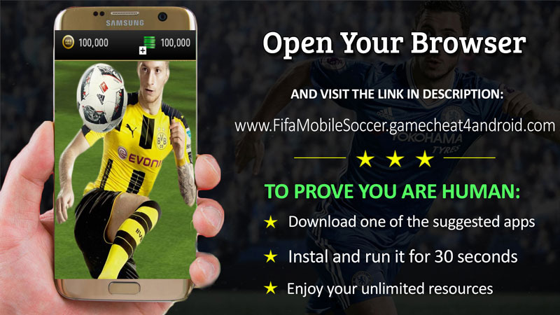 Fifa Mobile Soccer online hack resources