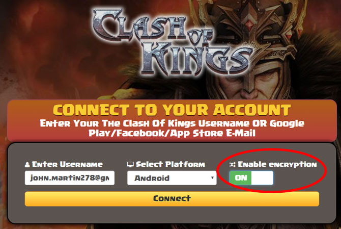 clash of kings hack safe