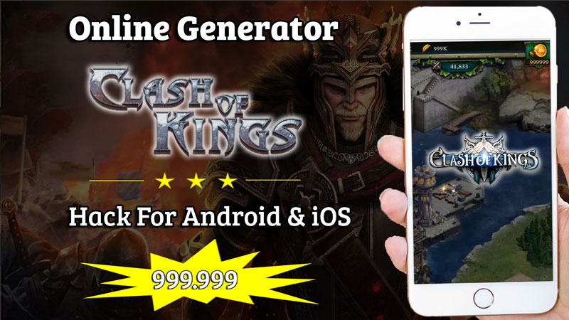 clash of kings hack tool