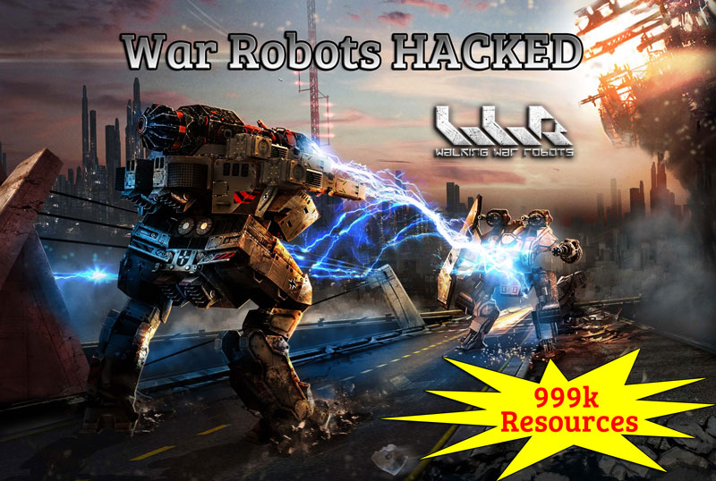 war robots hack unlimited resources