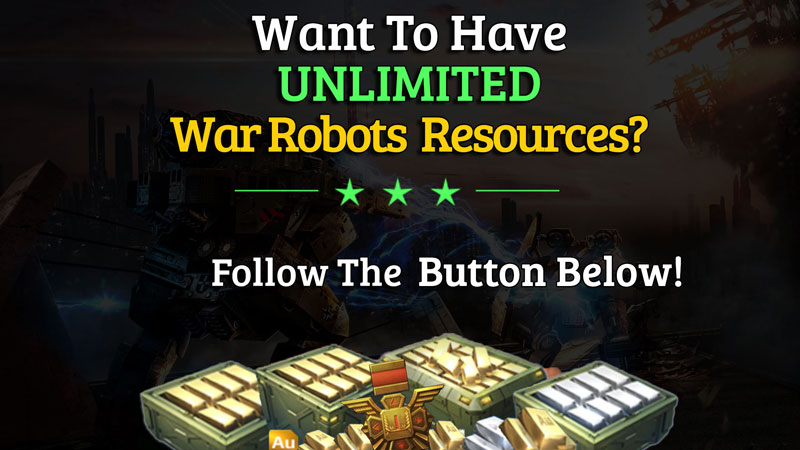 war robots unlimited resources free