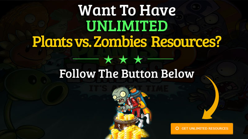 Plants vs. Zombies 2 Hack Unlimited Resources
