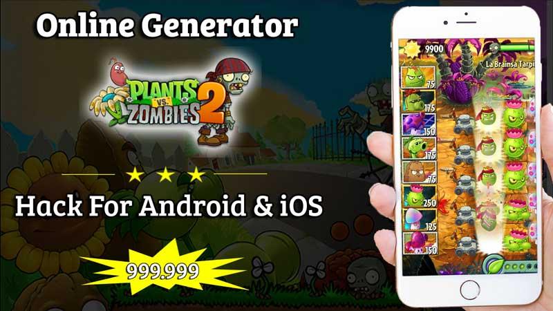 plants vs zombies 2 hack mod apk