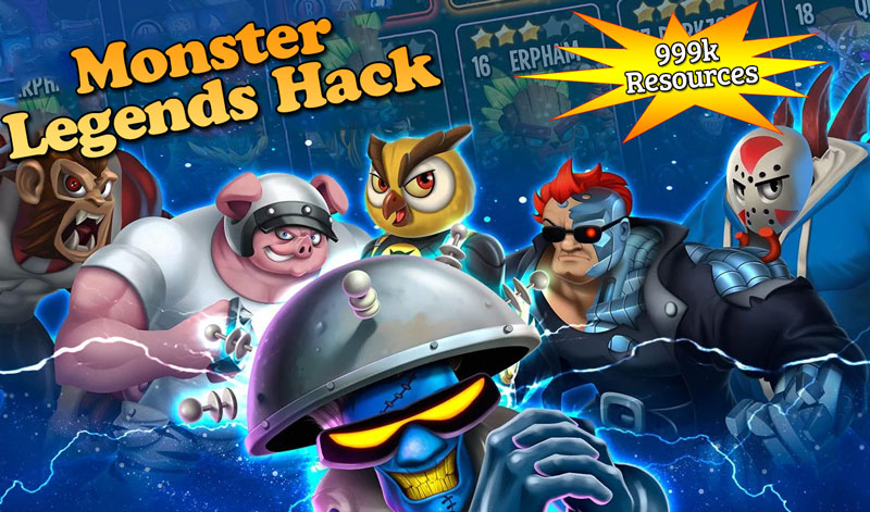 Monster Legends Hack - Cheat Tool 999k Resources [Android & iOS]