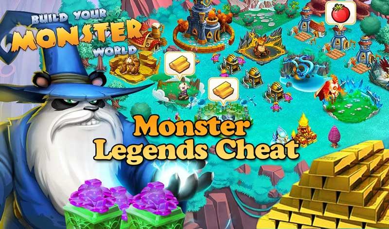 download monster legends mod apk new version