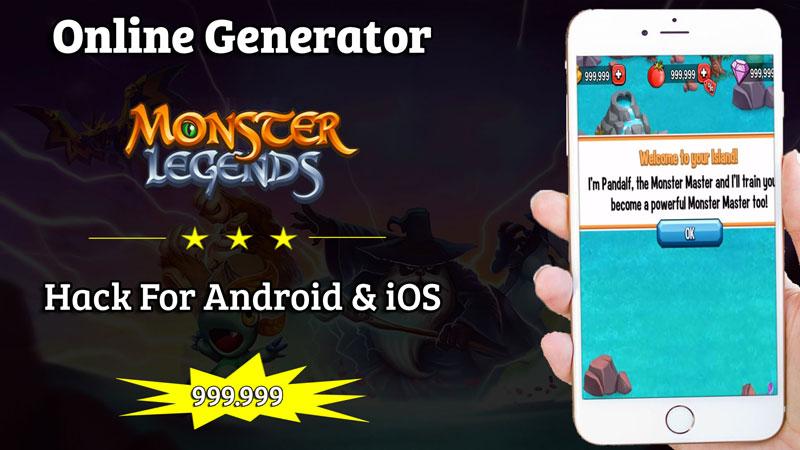 monster legend apk mod unlimited