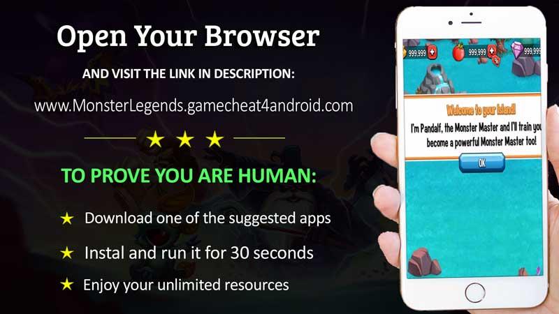 monster legends online hack tool