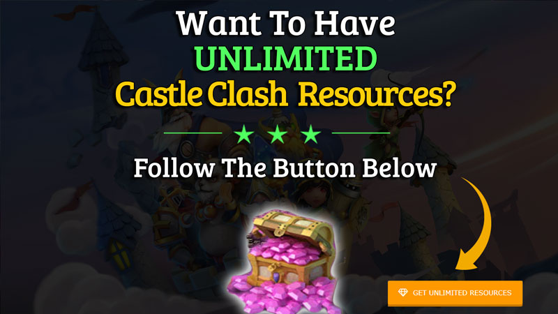 castle clash hack cheat unlimited resources 2019