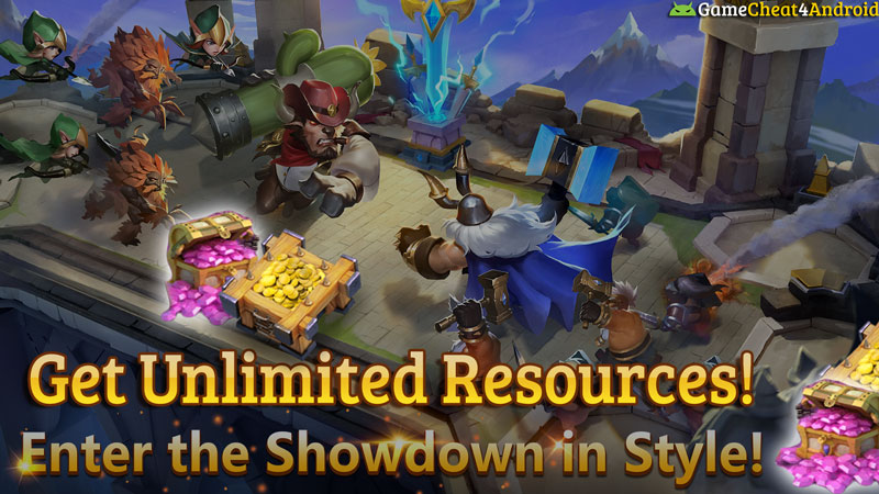castle clash hack unlimited-resources