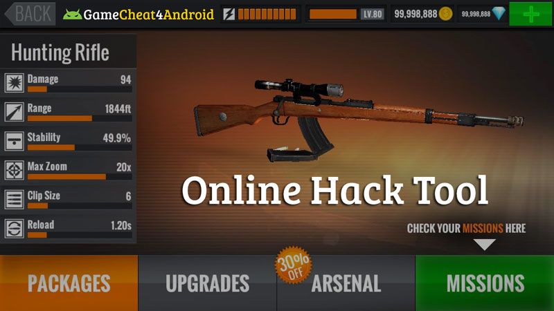 sniper 3D assassin hack cheat tool 2019