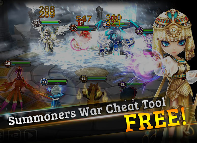 summoners war cheat