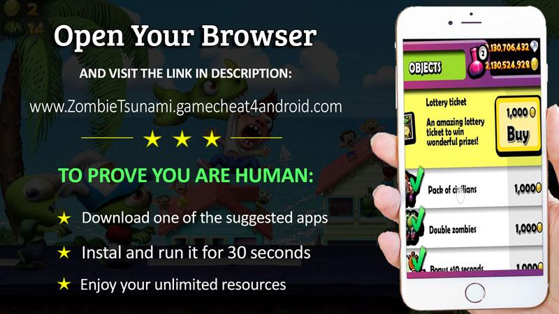 zombie tsunami hack online