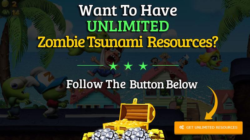 zombie tsunami hack unlimited resources