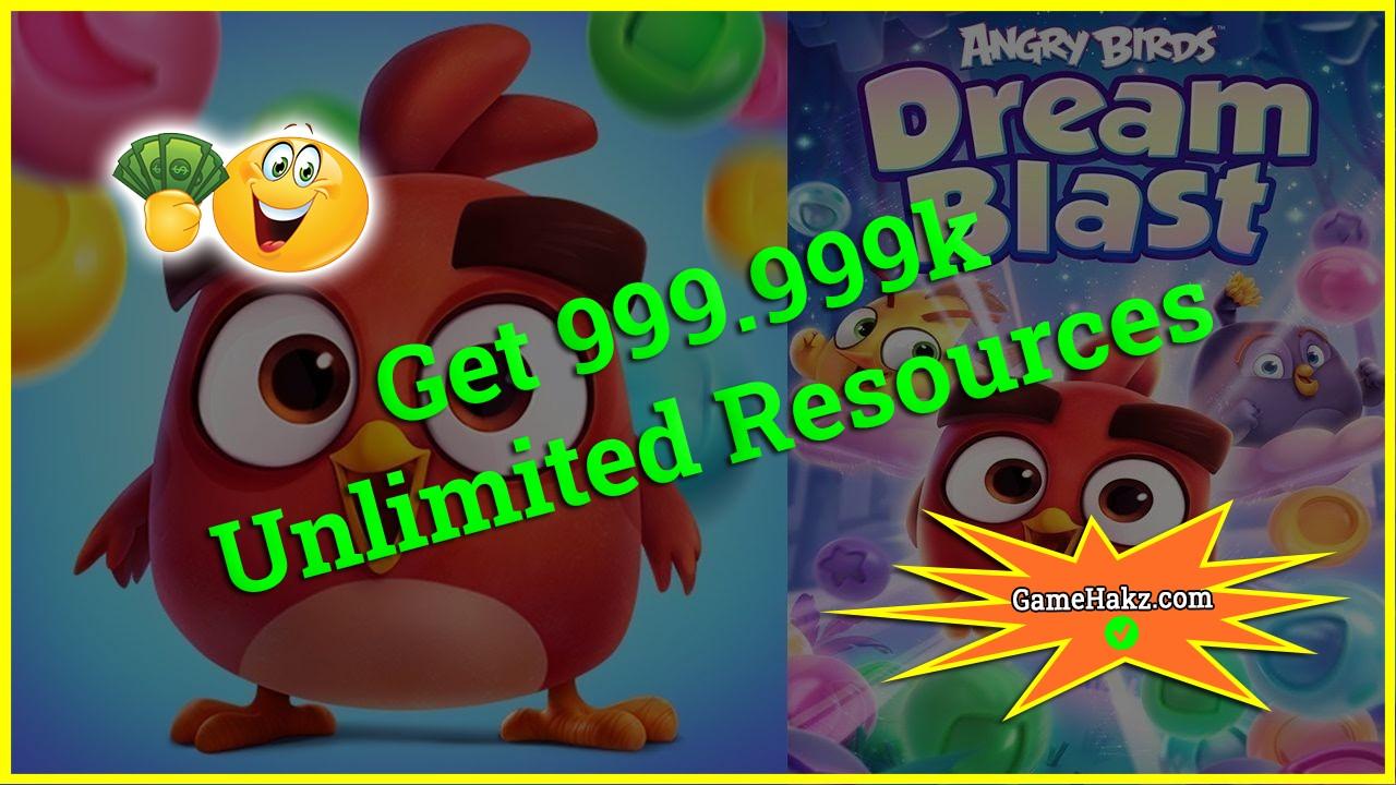 Angry Birds Dream Blast hack 2020