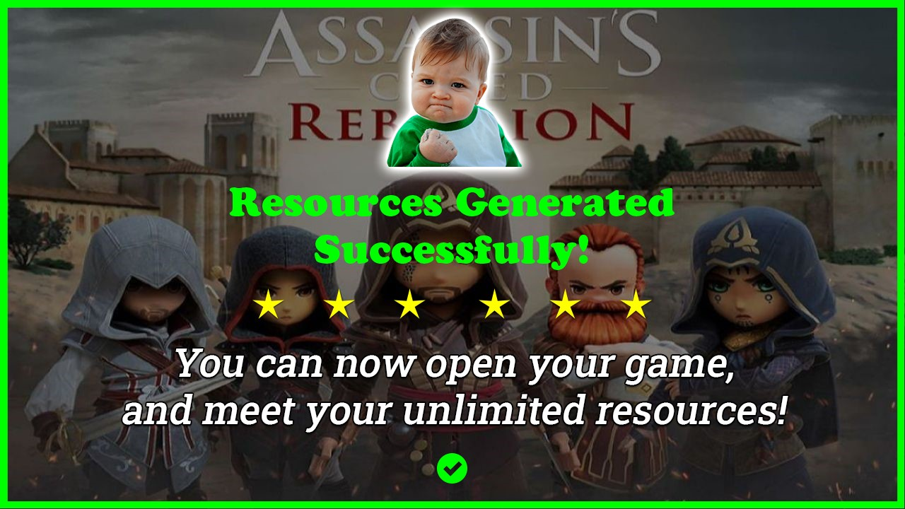 Assassins Creed Rebellion hack tool 2020