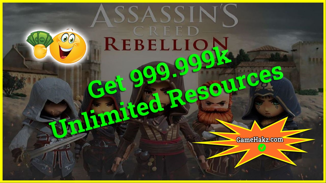 Assassins Creed Rebellion hack 2020