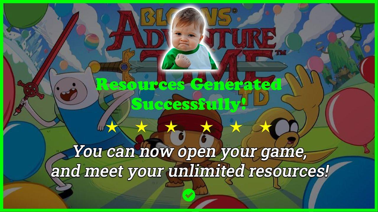 Bloons Adventure Time TD hack tool 2020