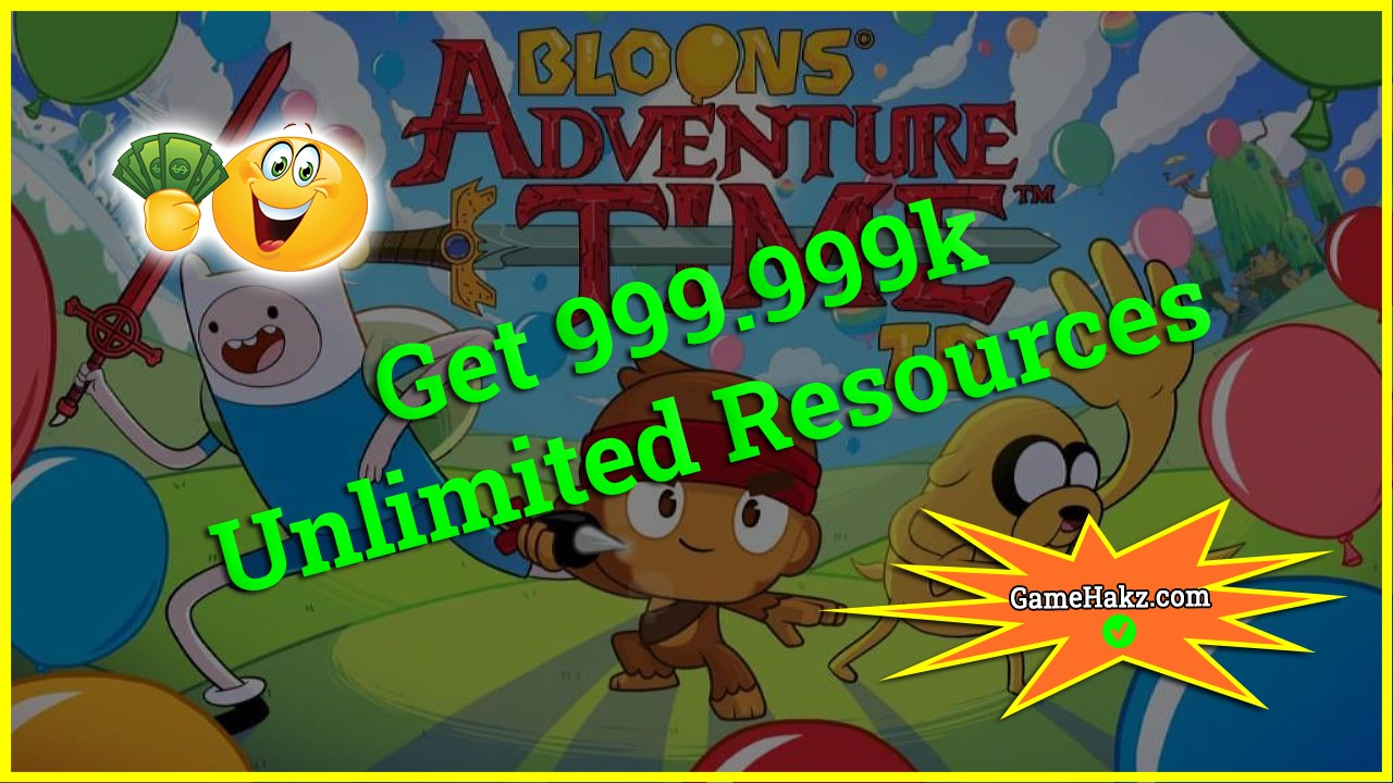 Bloons Adventure Time TD hack 2020