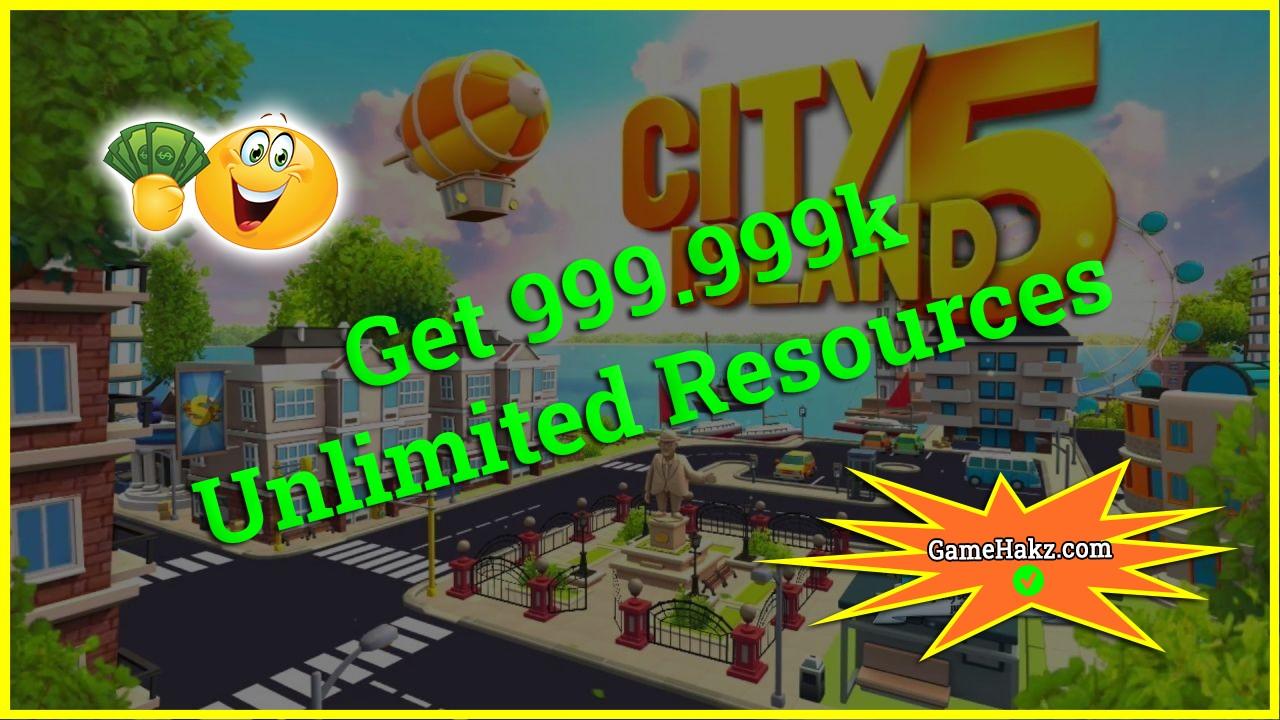 City Island 5 Tycoon Sim Game hack 2020