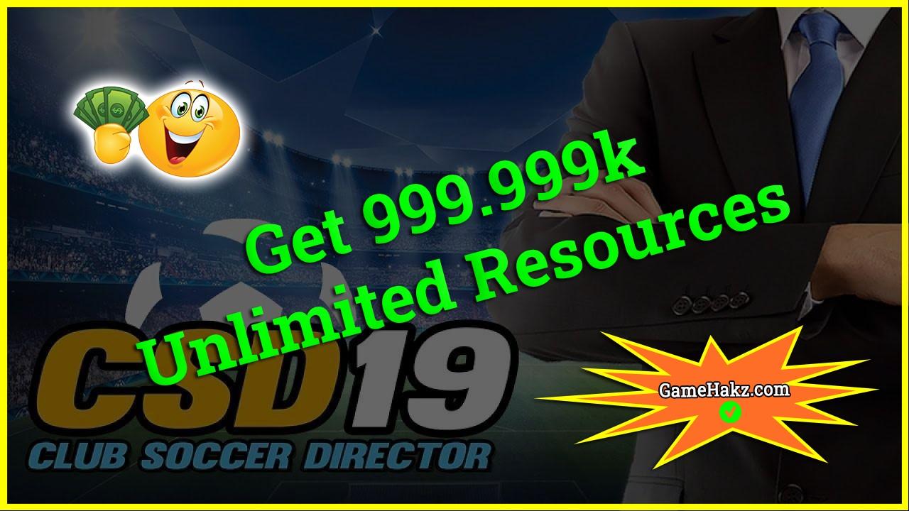 Club Soccer Director 2019 hack 2020