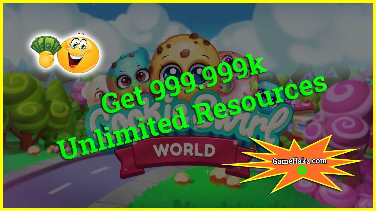 Cookie Swirl World hack 2020