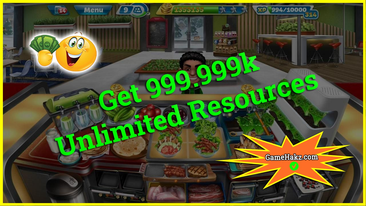 Cooking Fever hack 2020