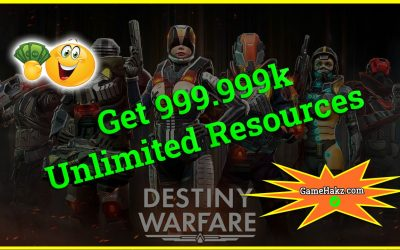 Destiny Warfare Hack Tool Online