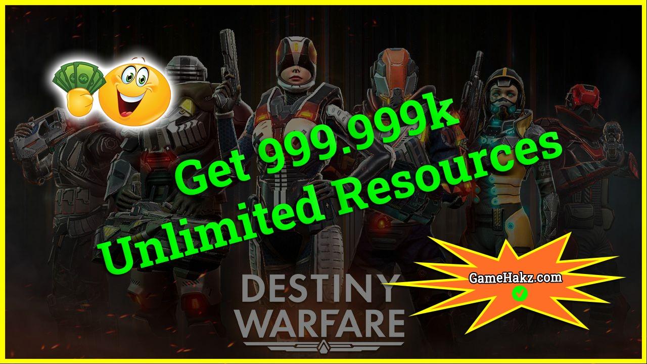 Destiny Warfare hack 2020