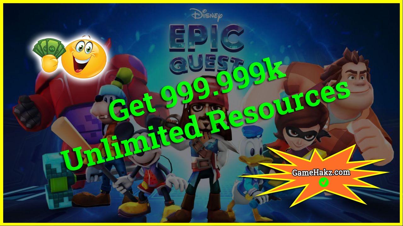Disney Epic Quest hack 2020