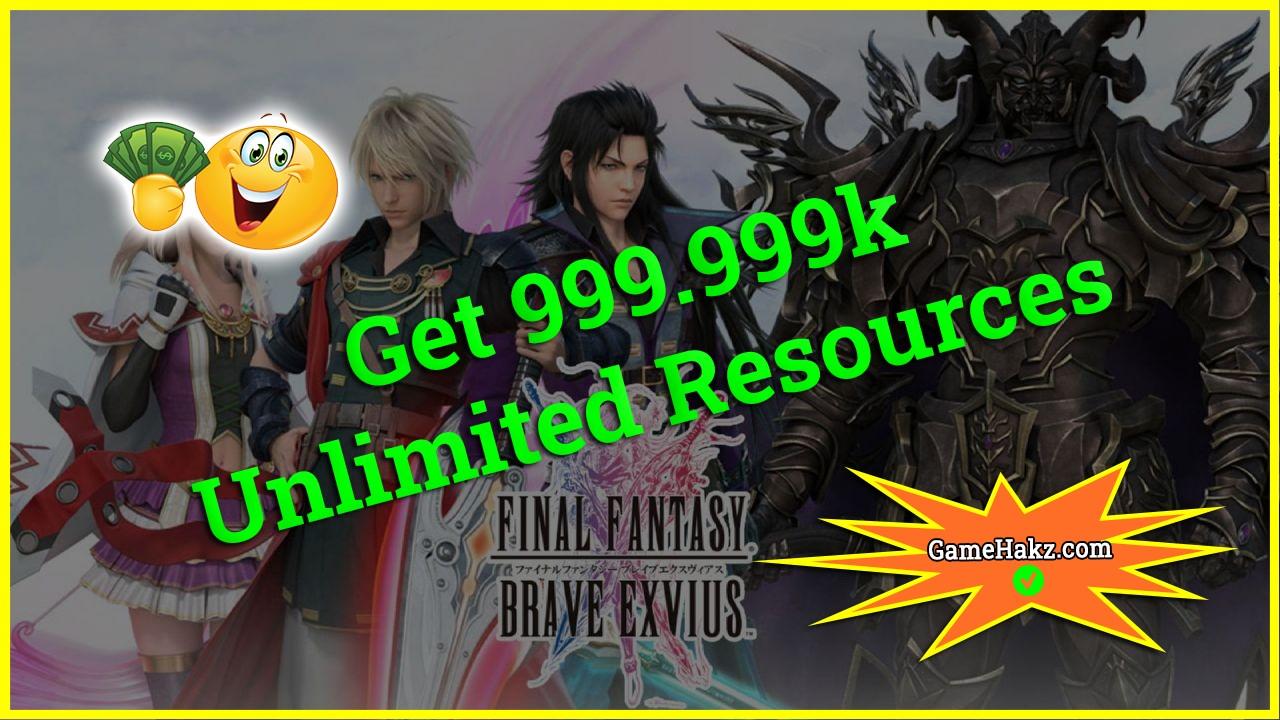 Final Fantasy Brave Exvius hack 2020