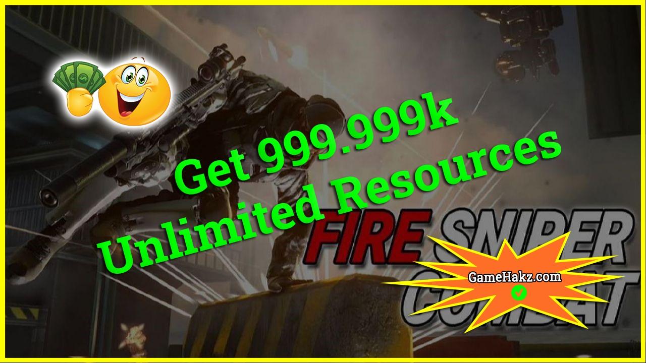 Fire Sniper Combat hack 2020