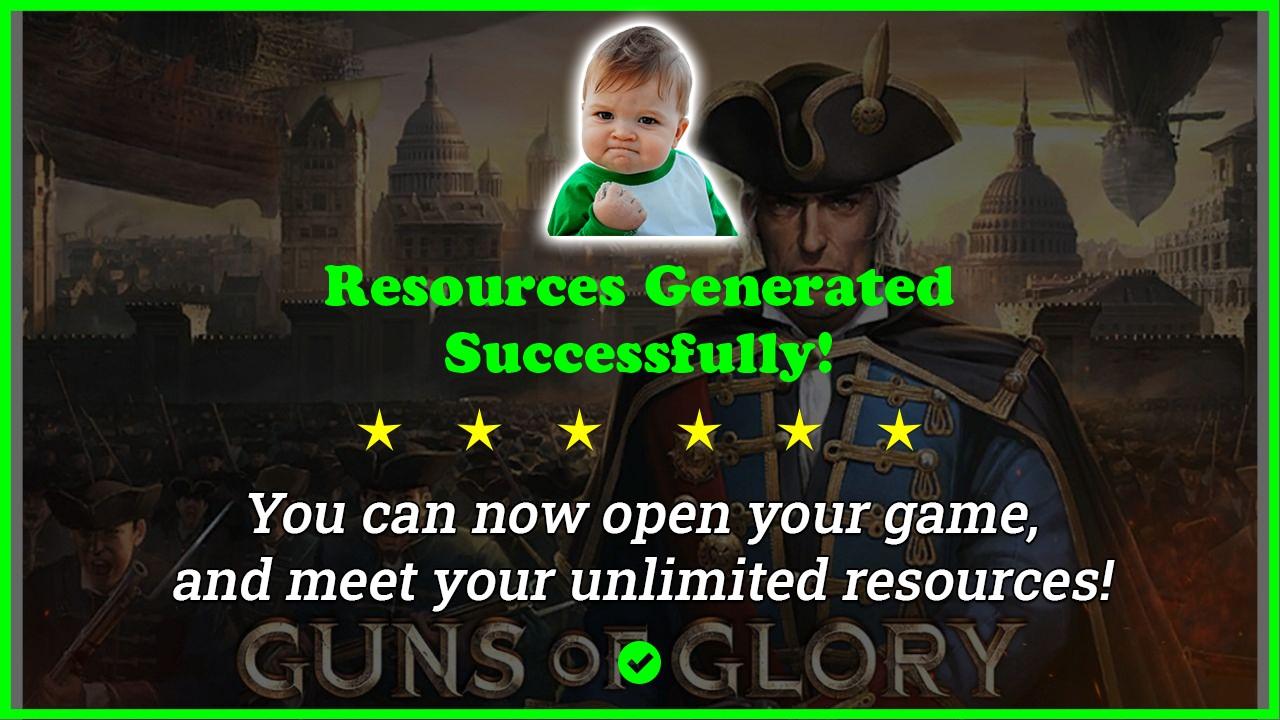 Guns Of Glory hack tool 2020