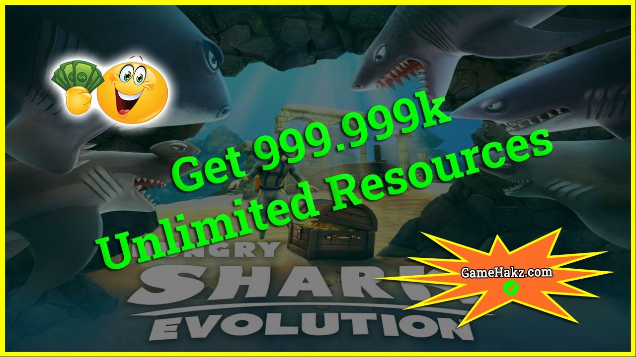 Hungry Shark Evolution hack 2020