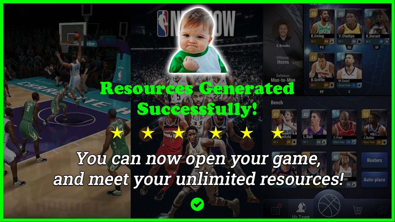 Nba Now Mobile Basketball Game hack tool 2020