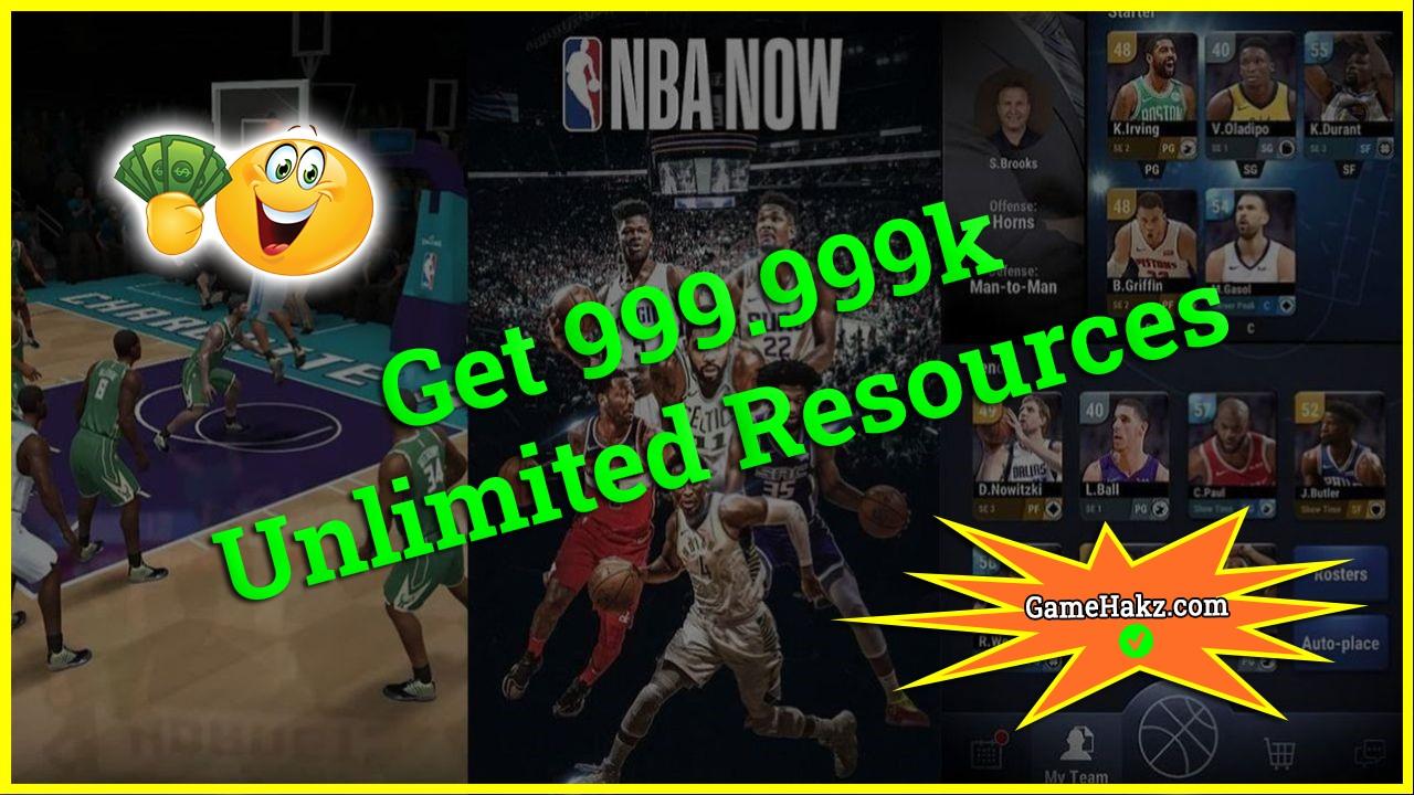 Nba Now Mobile Basketball Game hack 2020