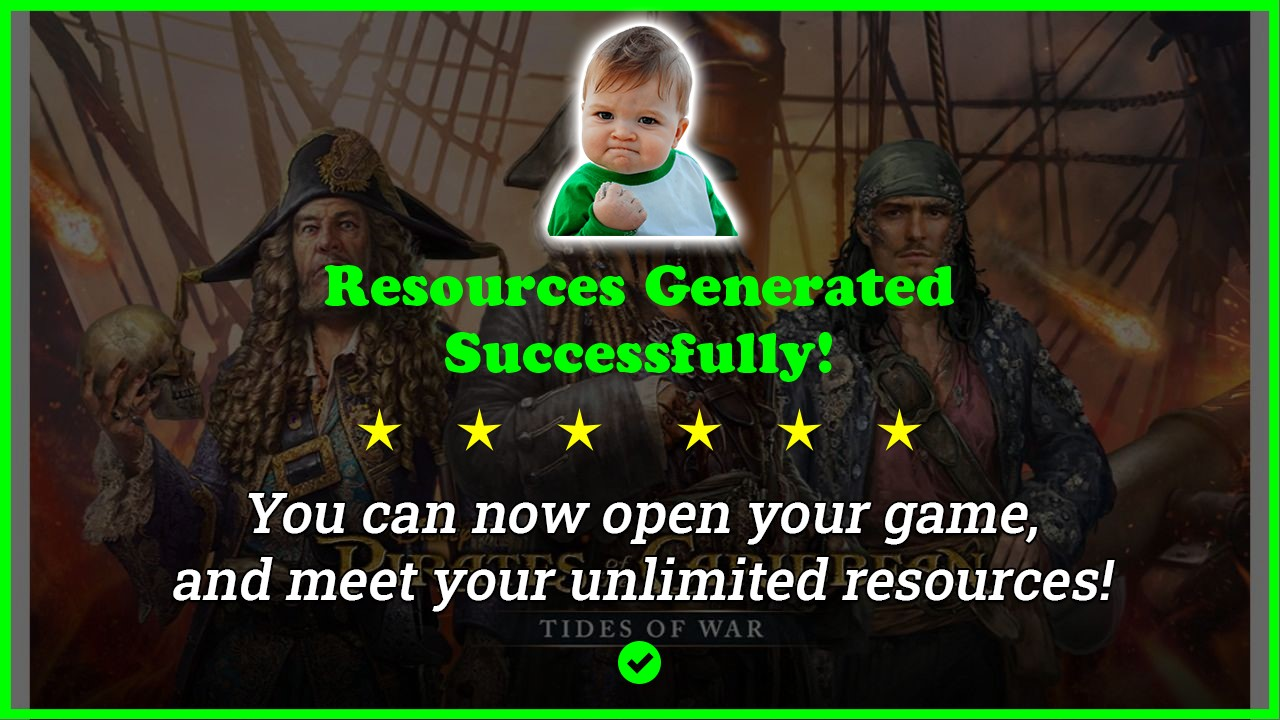 Pirates Of The Caribbean Tides Of War hack tool 2020