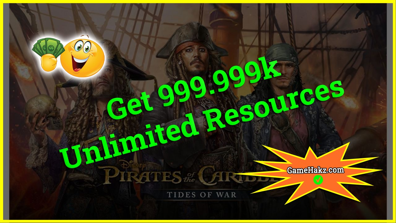 Pirates Of The Caribbean Tides Of War hack 2020
