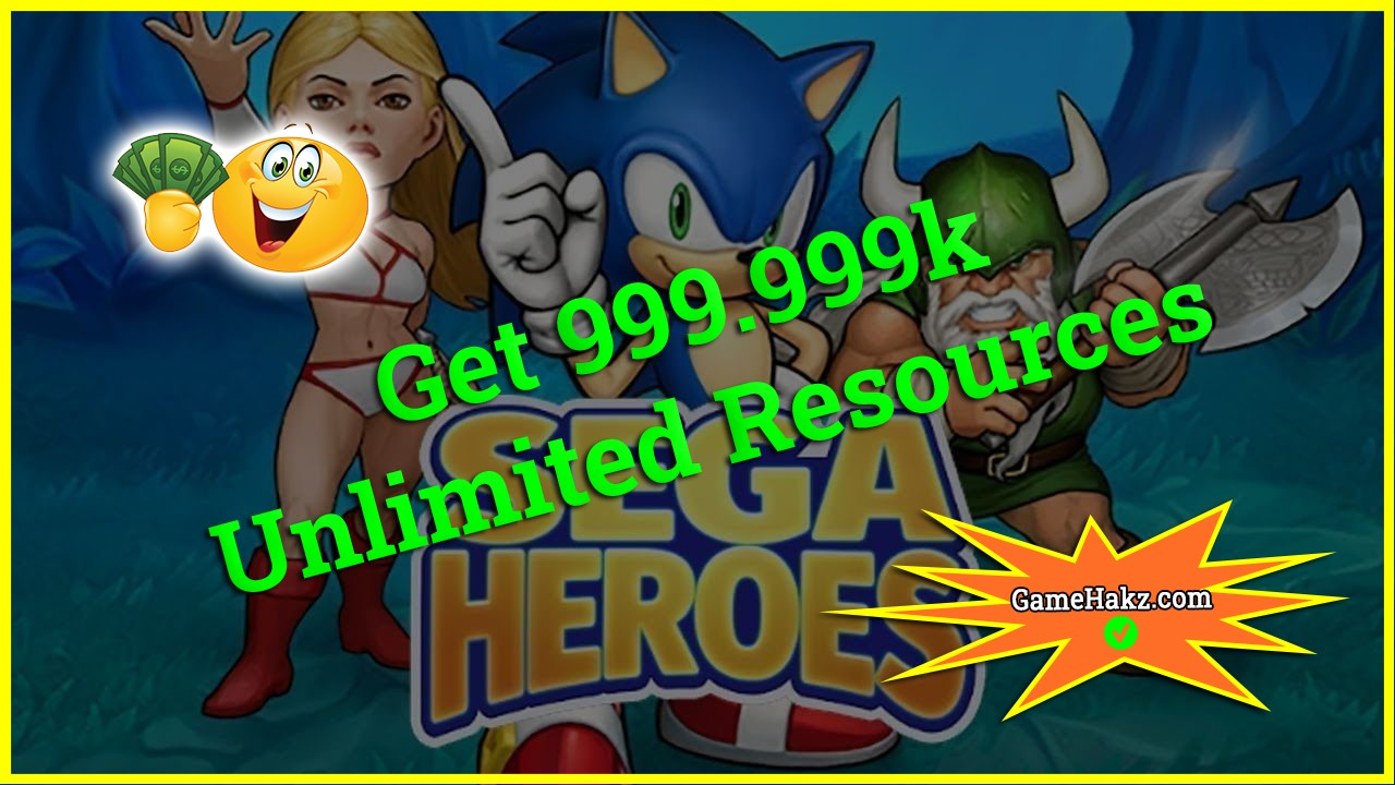 Sega Heroes hack 2020