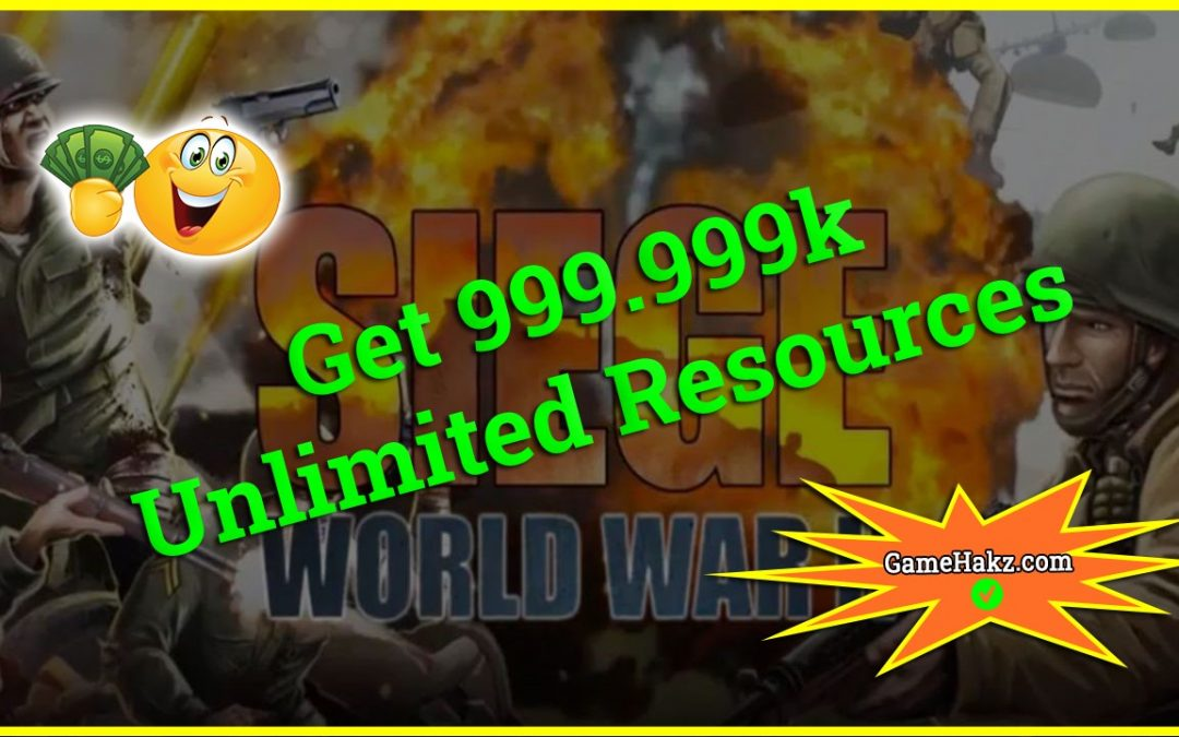 Siege World War II Hack Tool Online