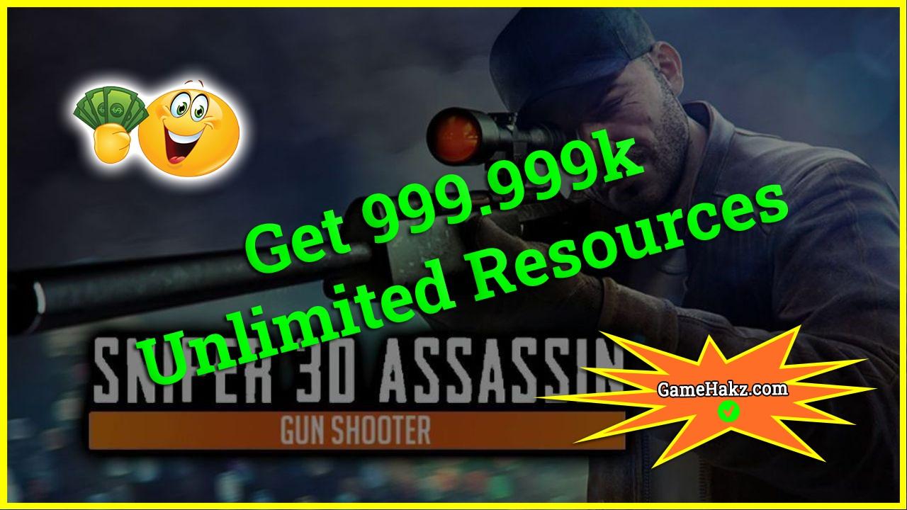 Sniper 3d Assassin Gun Shooter hack 2020