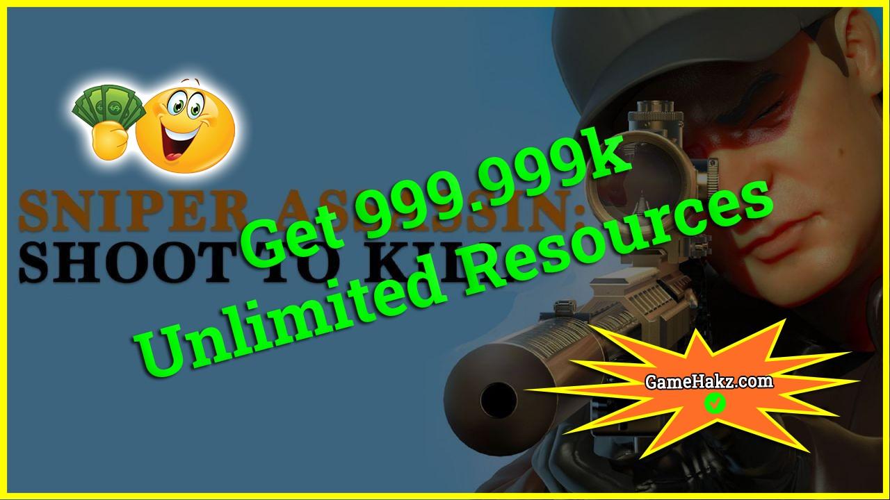 Sniper 3d Assassin Shoot To Kill hack 2020