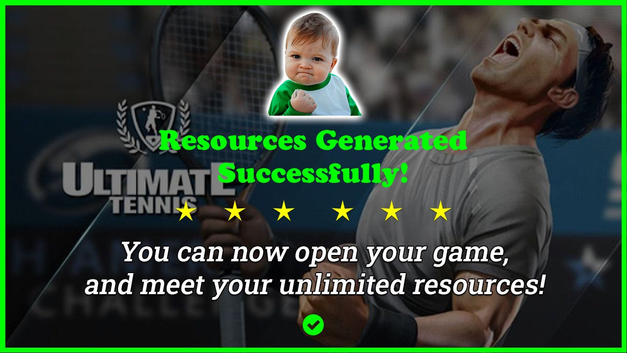 Ultimate Tennis hack tool 2020